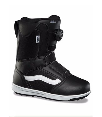 VANS VANS BOYS JUVIE LINERLESS SNOWBOARD BOOT BLACK / WHITE 2020