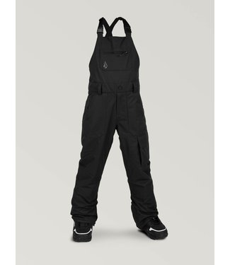 VOLCOM VOLCOM BOYS BARKLEY BIB SNOW PANT BLACK 2020