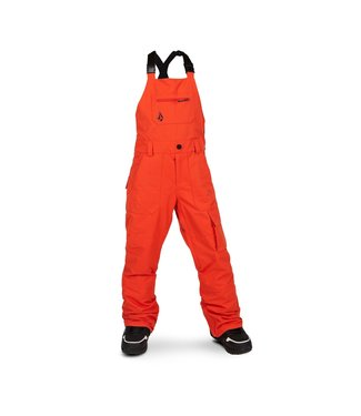 VOLCOM VOLCOM BOYS BARKLEY BIB SNOW PANT ORANGE 2020
