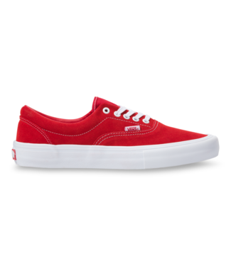 VANS VANS MENS SUEDE ERA PRO SHOE RED / WHITE SP20