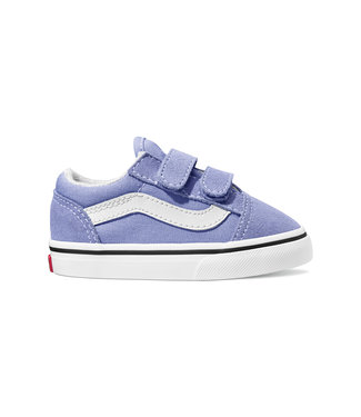 VANS VANS TODDLER OLD SKOOL V SHOE PALE IRIS / TRUE WHITE SP20