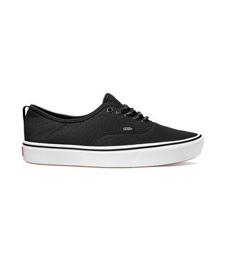 VANS VANS MENS AUTHENTIC COMFYCUSH SHOE (PERF) BLACK / TRUE WHITE SP20