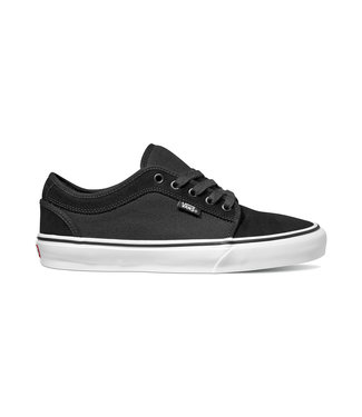 VANS VANS MENS CHUKKA LOW SHOE BLACK / TRUE WHITE SP20