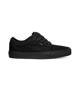 VANS VANS MENS CHUKKA LOW SHOE BLACKOUT SP20