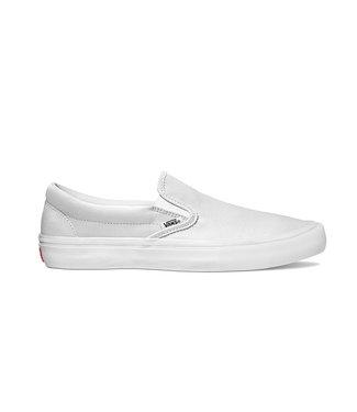 VANS VANS MENS SLIP-ON PRO SHOE WHITE / WHITE SP20