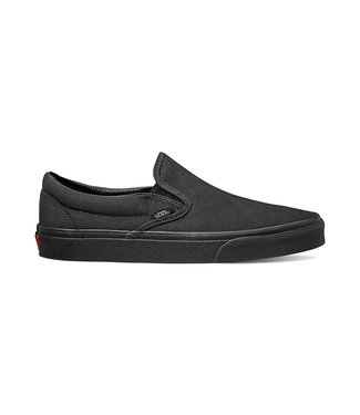 VANS VANS WOMENS CLASSIC SLIP-ON SHOE BLACK / BLACK SP20