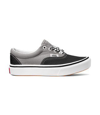 VANS VANS LITTLE BOYS COMFYCUSH ERA SHOE (LACE MIX) BLACK/ FROST GRAY SP20