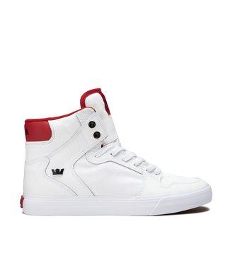 SUPRA SUPRA MENS VAIDER SHOE WHITE / RED / WHITE SP20