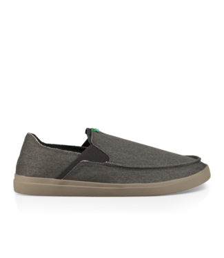 SANUK SANUK MENS PICK POCKET SLIP-ON SHOE DARK CHARCOAL SP20