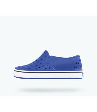 NATIVE NATIVE MILES YOUTH SHOE VICTORIA BLUE / SHELL WHITE SP20