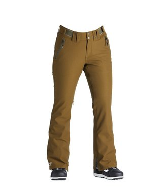 AIRBLASTER AIRBLASTER WOMENS STRETCH CURVE SNOW PANT OLIVE 2020