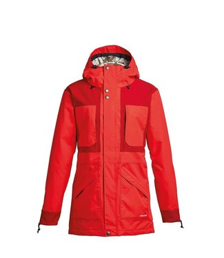 AIRBLASTER AIRBLASTER WOMENS LADY STORM CLOAK SNOW JACKET PARTYTIME RED 2020
