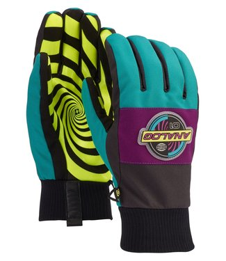 ANALOG ANALOG MENS BARTLETT SNOWBOARD GLOVE GREEN - BLUE SLATE 2020