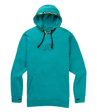 ANALOG ANALOG MENS CRUX PULLOVER HOODY GREEN - BLUE SLATE 2020