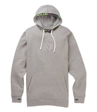 ANALOG ANALOG MENS CRUX PULLOVER HOODY GREY HEATHER 2020