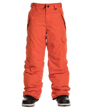 686 686 BOYS INFINITY CARGO INSULATED SNOW PANT SOLAR ORANGE 2020