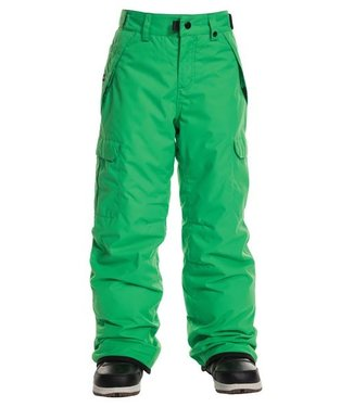 686 686 BOYS INFINITY CARGO INSULATED SNOW PANT HEX GREEN 2020