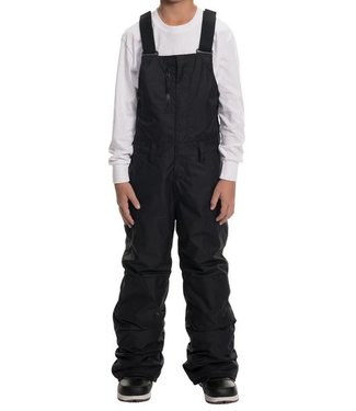 686 686 BOYS SIERRA INSULATED BIB SNOW PANT BLACK 2020