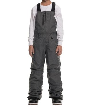 686 686 BOYS SIERRA INSULATED BIB SNOW PANT GREY MELANGE 2020