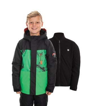 686 686 BOYS SMARTY INSULATED SNOW JACKET HEX GREEN 2020