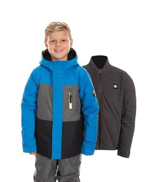 686 686 BOYS SMARTY INSULATED SNOW JACKET STRATA BLUE 2020
