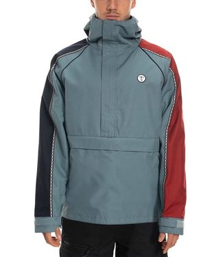 686 686 MENS CATCHIT ANORAK TRACK SNOW JACKET GOBLIN BLUE 2020
