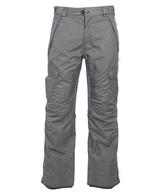 686 686 MENS INFINITY INSULATED CARGO SNOW PANT GREY 2020