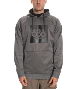 686 686 MENS KNOCKOUT BONDED PULLOVER HOODY CHARCOAL 2020