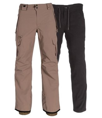 686 686 MENS SMARTY 3-IN-1 CARGO SNOW PANT KHAKI 2020