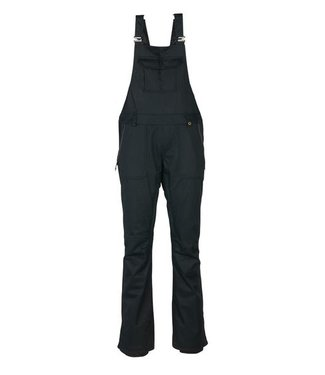 686 686 WOMENS BLACK MAGIC INSULATED BIB SNOW PANT BLACK 2020
