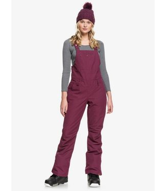 ROXY ROXY WOMENS RIDEOUT BIB SNOW PANT GRAPE WINE 2020