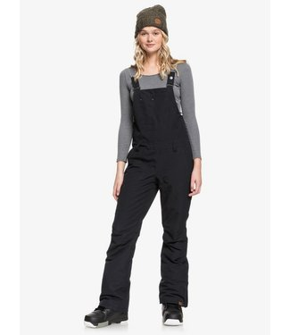 ROXY ROXY WOMENS RIDEOUT BIB SNOW PANT TRUE BLACK 2020