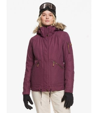 ROXY ROXY WOMENS MEADE SNOW JACKET GRAPE WINE 2020