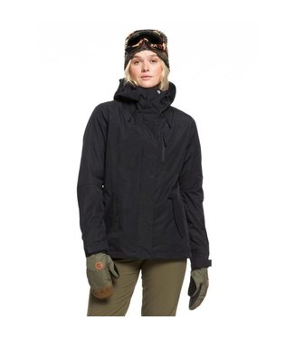 ROXY ROXY WOMENS JETTY 3-IN-1 SNOW JACKET TRUE BLACK 2020