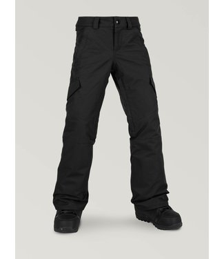 VOLCOM VOLCOM GIRLS SILVER PINE INSULATED SNOW PANT BLACK 2020