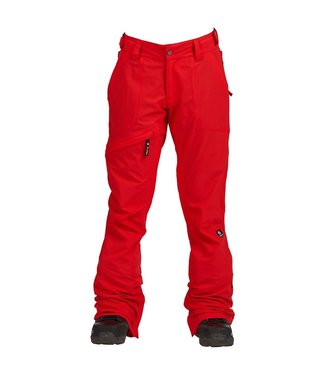 NIKITA NIKITA WOMENS WHITE PINE STRETCH SNOW PANT RED 2020