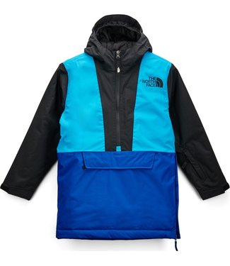 THE NORTH FACE THE NORTH FACE BOYS FREEDOM ANORAK SNOW JACKET BLUE 2020