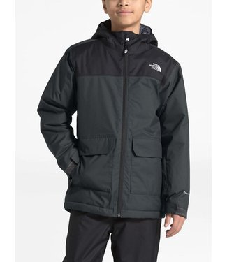 THE NORTH FACE THE NORTH FACE BOYS FREEDOM INSULATED SNOW JACKET ASPHALT GREY 2020