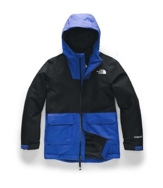 THE NORTH FACE THE NORTH FACE BOYS FRESH POW INSULATED SNOW JACKET BLACK 2020