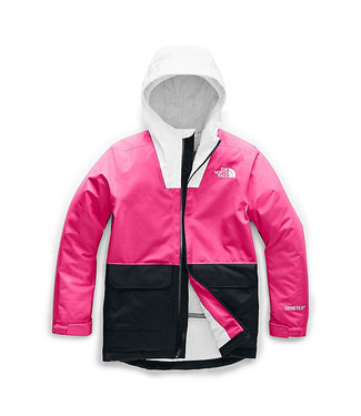 THE NORTH FACE THE NORTH FACE YOUTH FRESH POW INSULATED SNOW JACKET MR. PINK 2020