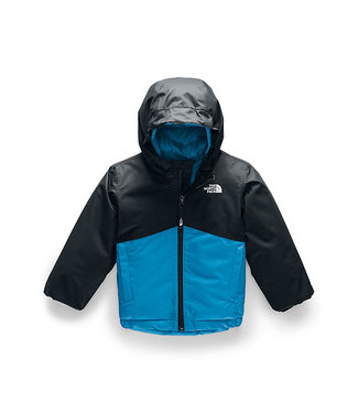 THE NORTH FACE THE NORTH FACE TODDLER BOYS SNOWQUEST INSULATED SNOW JACKET ACOUSTIC BLUE 2020