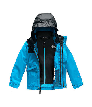 THE NORTH FACE THE NORTH FACE TODDLER BOYS SNOWQUEST TRICLIMATE SNOW JACKET ACOUSTIC BLUE 2020