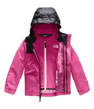 THE NORTH FACE THE NORTH FACE TODDLER SNOWQUEST TRICLIMATE SNOW JACKET MR. PINK 2020