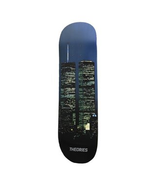 "THEORIES THEORIES WTC SKATEBOARD DECK - 8.2"""