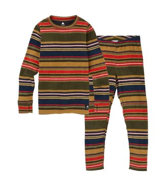 BURTON BURTON BOYS FLEECE BASE LAYER SET GRATZ STRIPE 2020