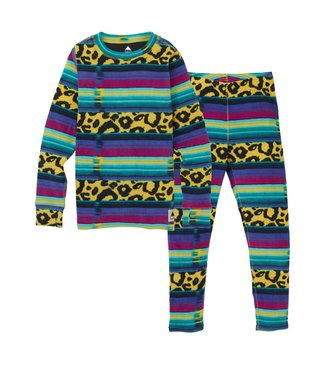 BURTON BURTON BOYS FLEECE BASE LAYER SET LEOPARDY CAT 2020