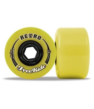 ABEC 11 ABEC 11 RETROFREERIDE WHEELS - 72mm 83A