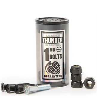 "THUNDER THUNDER BOLTS 1"" PHILLIPS SKATEBOARD HARDWARE"