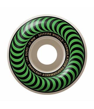 SPITFIRE SPITFIRE F4 CLASSIC GREEN SKATEBOARD WHEELS - 52MM - 99A