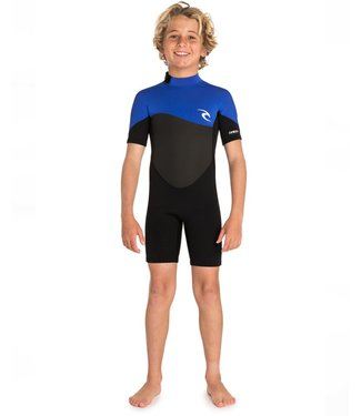 RIP CURL RIP CURL BOYS JUNIOR OMEGA 1.5MM S/S SPRING WETSUIT 2020